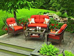 Patio Furniture Conversation Sets With Fire Pit by Patio Ideas High Top Outdoor Table Set Hanover Summer Nights 5