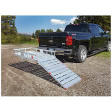 100 Aluminum Loading Ramps For Pickup Trucks Guide Gear Cargo Carrier With Ramp 657786 Roof Racks