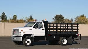 100 Top Kick Truck 1991 GMC 12 Flatbed YouTube