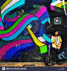 Joe Strummer Mural East Village by Graffiti Mural Guitar Stock Photos U0026 Graffiti Mural Guitar Stock