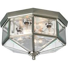 Lamp Shade Adapter Ring Home Depot by Progress Lighting P5789 20 Octagonal Close To Ceiling Fixture With