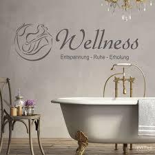 wandaufkleber wellness wandtattoo badezimmer