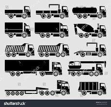 Vector Trucks Icon Set Stock Vector (Royalty Free) 428629633 ...