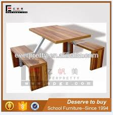 Rectangular Table Benches Factory Price Knock Down Dining Chairs Dubai Tables And