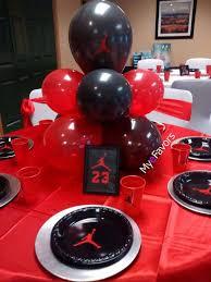 jordan theme baby shower favor table ashley 39 s jordan michael