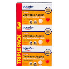 Sugar Or Aspirin For Christmas Tree by Equate Low Dose Aspirin Orange Chewables 81 Mg 36 Ct 3 Pk