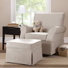 Nursery Glider Recliner with Ottoman Most fortable Glider