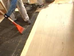 How To Replace Underlayment In A Kitchen