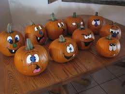 Halloween Faces For Pumpkins Painted by Painted Pumpkins Faces Craft Ideas Pinterest Painted Pumpkin