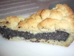 mohn pudding kuchen