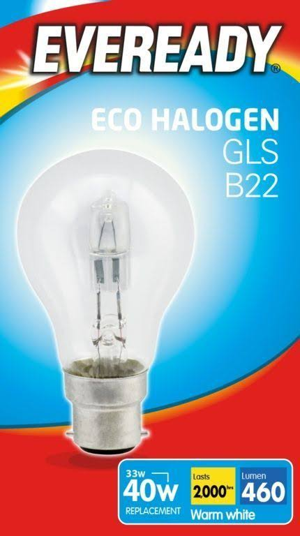 Eveready GLS Eco Halogen Light Bulb - 33W