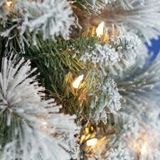 Slim Flocked Artificial Christmas Trees by Best 25 Slim Artificial Christmas Trees Ideas On Pinterest Slim