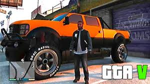 Grand Theft Auto V - Gameplay With [MONSTER TRUCK]