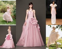 vera wang pink wedding dress cocktail dresses 2016