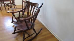 Identifying Antique Chairs   ThriftyFun Antique Rocking Chair With Cane Seat Indoor Wooden Chairs Cracker Barrel And Vintage 877 For Sale At 1stdibs Tiger Oak Rocker Activeaid Appraisal American Ca 1890 Season 21 Episode Famous For His Sam Maloof Made Fniture That Had Limbert Co Archives California Historical Design How Appraisal Types Affect Market Value Trader To Identify The Age Of A Windsor Our Pastimes Establishing The Of An Youtube Repair Restore Bamboo Dgarden Stottlemyer Chairs Ages Lifestyle