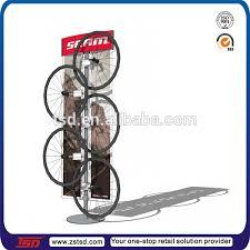 TSD M321 Custom Store Metal Display Rack For Bike Wheelwheel Rim