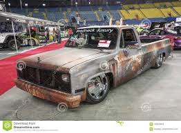100 Low Rider Truck Rusted Pickup Truck Editorial Stock Photo Image Of View