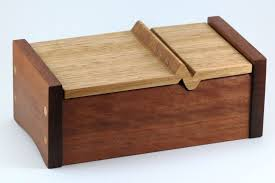Finished Keepsake Box With A Heartbeat Lid