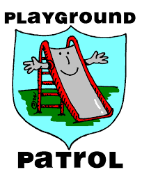 Kids On Playground Clipart Black And White