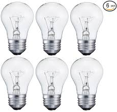 6 pack 15 watt decorative a15 incandescent light bulb medium e26