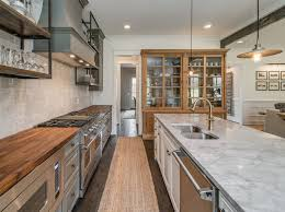 Kitchen Wood And Marble Countertops Gray Rustic Refined