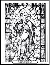 Assumption Coloring Page To Print
