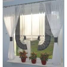 moderne gardinen wohnzimmer fensterdekoration weiß grau