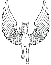 Preschool Unicorn Coloring Pages Free Printable For Adults Unicorns Cute Baby Head Full Size