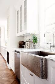 Retrofit Copper Apron Sink by Best 25 Stainless Steel Farmhouse Sink Ideas On Pinterest