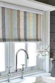 Kitchen Curtain Ideas With Blinds by 25 Best Fabric Blinds Ideas On Pinterest Diy Roman Shades Diy