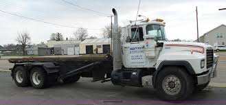 100 Roll Off Truck 1997 Mack RD690S Roll Off Truck Item K1339 SOLD May 12