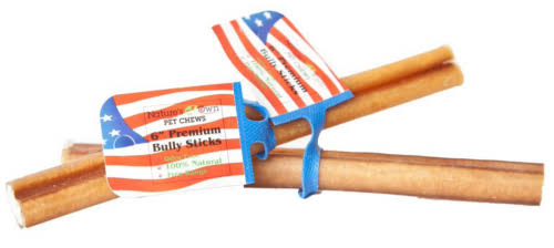 Best Buy Bones Regular Bully Stick Dog Treat - Odor Free, 6""