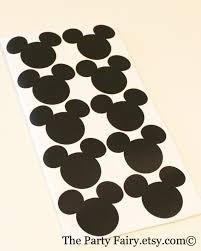 Mickey And Minnie Bathroom Accessories by Mickey And Minnie Chalkboard Label Stickers 10 Mickey Minnie