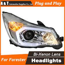 car styling for forester led headlight 2013 2016 original drl lens