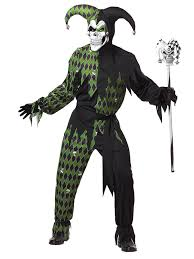 Halloween Jokes For Adults by Green Diabolic Harlequin Costume For Men Adults Costumes And