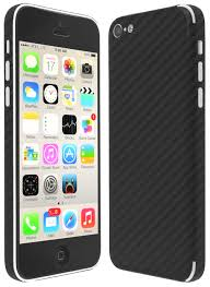 Skinomi TechSkin Apple iPhone 5C Carbon Fiber Skin Protector