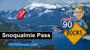 100 Crosby Trucking Snoqualmie Pass In The Cascade Range YouTube