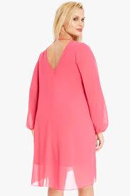 size adeline chiffon dress