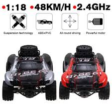 100 Fast Electric Rc Trucks 118 24GHZ Remote Control Car RC Monster Truck Off Road