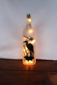 Decorative Wine Bottles With Lights by 20 Best Decoupaged Wine Bottles Images On Pinterest Wine Bottle