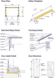 free diy tool shed plans easy woodworking solutions