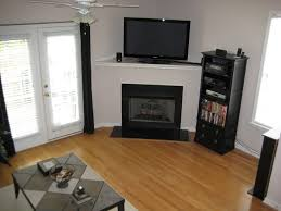 Living Room With Fireplace In Corner by Living Room Modern Family Room Designs With Corner Gas Fireplace