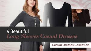 9 beautiful long sleeves casual dresses casual dresses collection