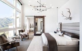 einrichtungsideen für moderne schlafzimmer mit rustikalem