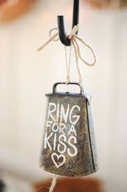 21 Ideas For An Awesomely Rustic Wedding Cowbells