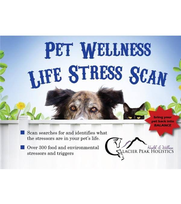 Glacier Peak Holistics 3724 Pet Wellness Life Stress Scan