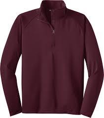 sport tek sport wick stretch half zip pullover men u0027s gearone
