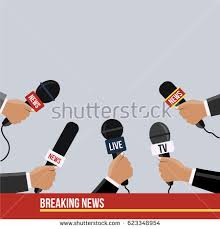 Background Flat Design Style Journalism Waiting Stock Vector Royalty Free 623348954