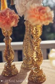 Decorating Vases With Glitter Or Rhinestones Paper Glue Could Be Way Cheaper Then Buying