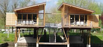 chalet en kit habitable prix chalet occasion pas cher vente terrain avec mobil home maison